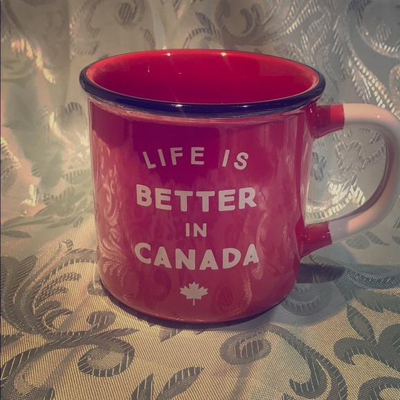 Life is Better in Canada Indigo Mug